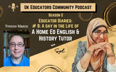 S02 Episode #8: Home Ed English & History Tutor with Yvonne Mason