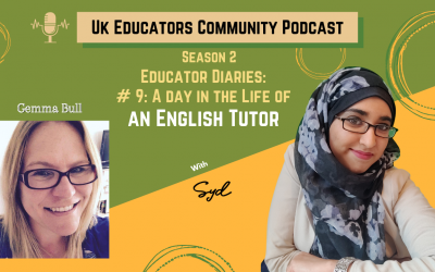 S02 Episode #9: A Day in the life of an English tutor with Gemma Bull