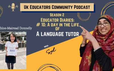 S02 Episode #10: A Day in the life of a Language tutor with Chloe-Maired Donnelly