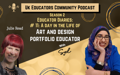 S02 Episode #11: A Day in the Life of An Art and Design Portfolio Educator with Julie Read